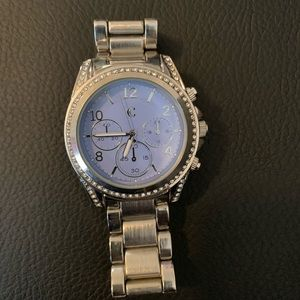 Charming Charlie blue watch